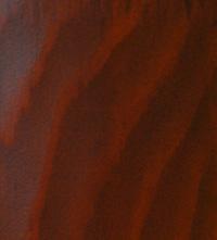 Покраска подоконников из дерева в цвет махагони